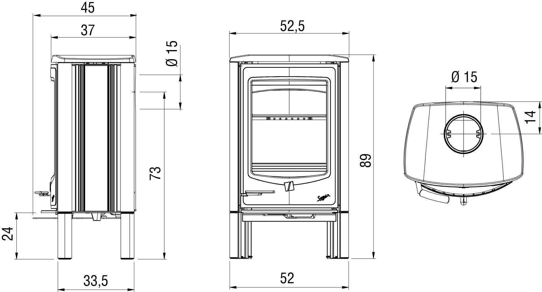 PJ C jade 4 pieds schema hd - Poêle SAPHIR